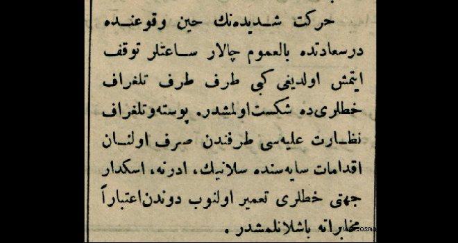1894 İstanbul depreminden:
