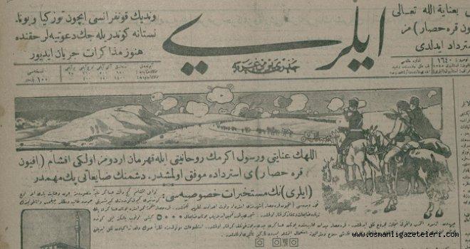30 Ağustos 1922 İleri gazetesinden: