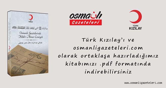 Osmanlı Gazetelerinde Hilal-i Ahmer Cemiyeti kitabı yayımlandı