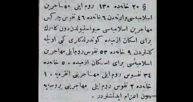 Anadolu'ya gelen muhacirler