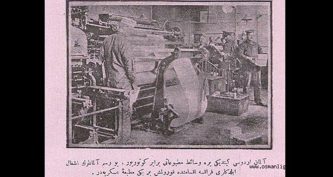 Basının etkisini gösteren bir haber (1916)