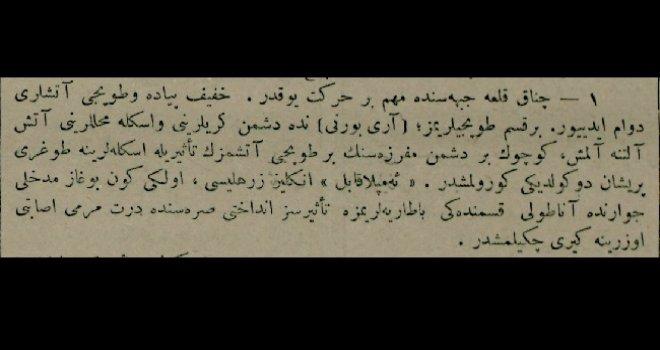 Çanakkale Cephesi (13 Mayıs 1915)