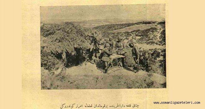 Çanakkale muhabirinden Çanakkale'deki son durum (8 mart 1915)