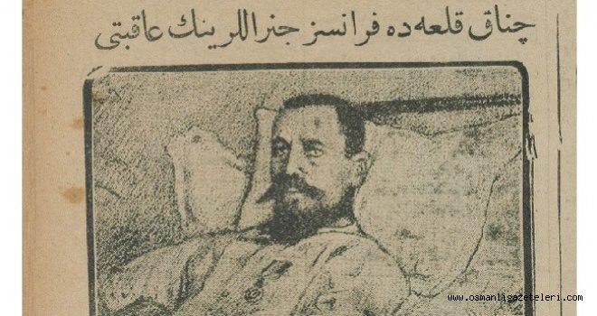 Çanakkale'deki Fransız Birliğinin komutanı yaralanıp safdışı kaldı
