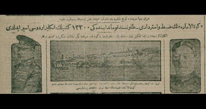 Irak cebhe-i harbinde Tarih-i Osmanîye pek şan-âver sahifeler bahş idecek bir muvaffakıyet-i azime