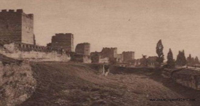 İstanbul Surları (21 Ekim 1900)