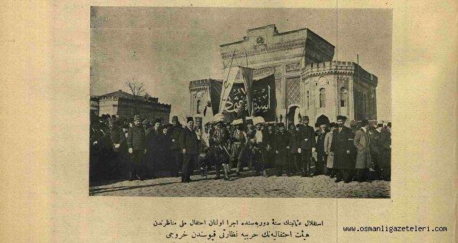 İstiklal-i Osmani töreninden bir manzara