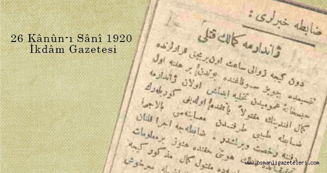 Jandarma Kemal'in Katli