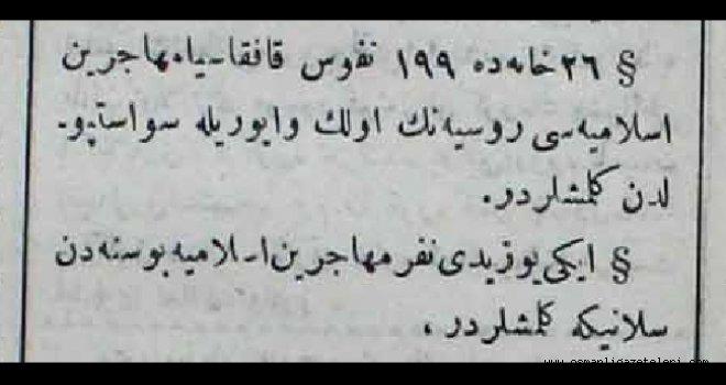 Kafkasya'dan 199 Muhacir daha geldi