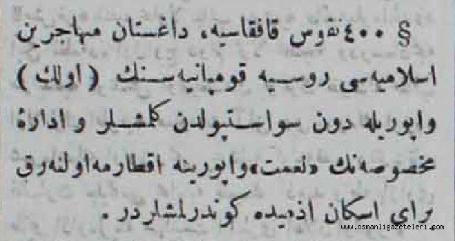 Kafkasya'dan Anadolu'ya 400 muhacir geldi