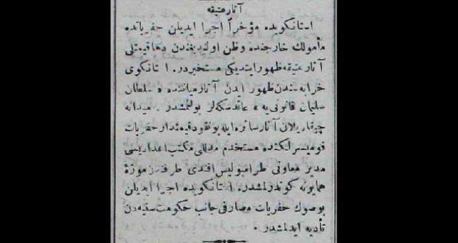 Kanuni Sultan Süleyman dönemine ait sikke bulundu