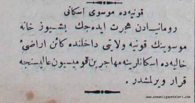 Konya'da Musevi iskanı