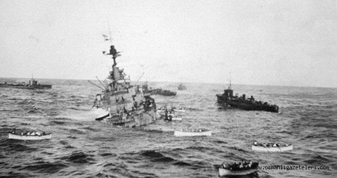 Manş Denizindeki İngiliz zırhlısının batış nedeni belli değil
