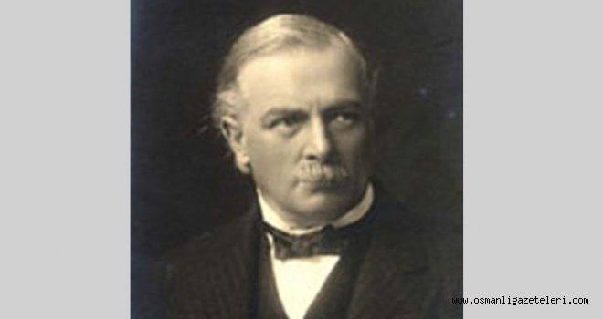Nazır Lloyd George İngiltere'nin aylık savaş masrafını açıkladı: 1 milyar 250 milyon Frank