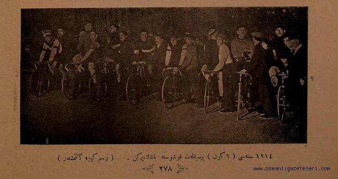 Paris'te 6 gün süren bisiklet yarışması yapıldı