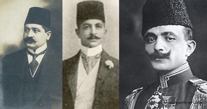 Sadrazam Paşa Enver Paşa ve Talat Bey'le görüştü