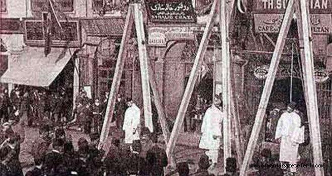 Savaştan firar eden 17 nefer idam edildi