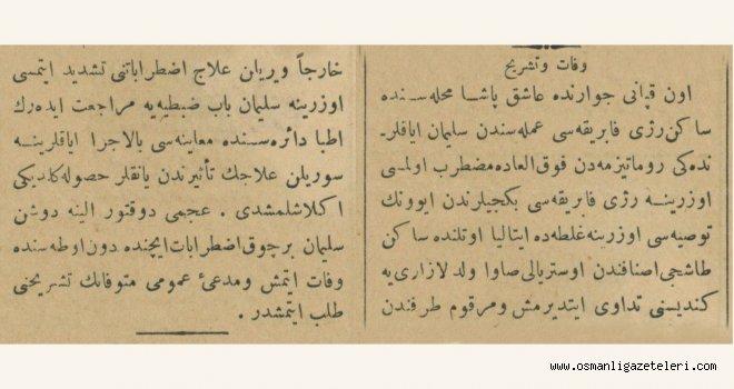 Savcılık otopsi yapılmasını istedi (22 Haziran 1900)