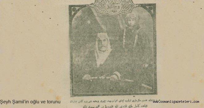 Şeyh Şamil'in oğlu Sadrazam Paşa'yı ziyaret etti