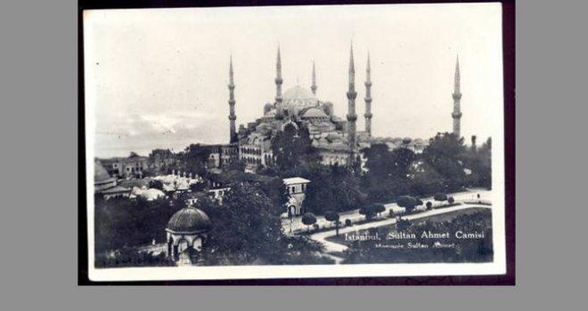 Sultanahmet Camii tadilatında kaza