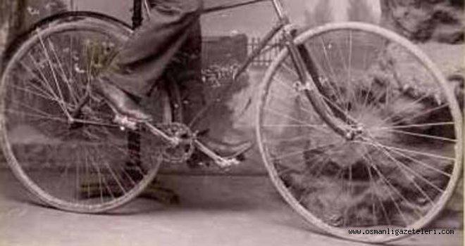 Velosiped (Bisiklet) içinde ispirto kaçırmışlar