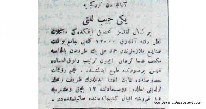 Yeni Almanca- Türkçe cep sözlüğü (1915)